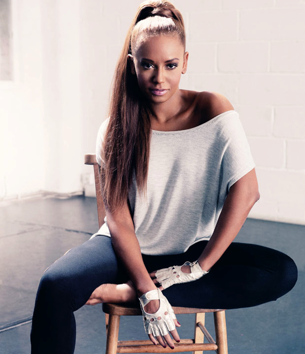 Mel B in UK Fabulous Magazine