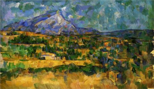 hawksabove:  Mont Sainte Victoire -Paul Cezanne [source]