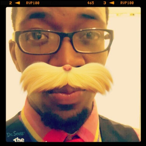 My New Mustache Lol (Taken with instagram)