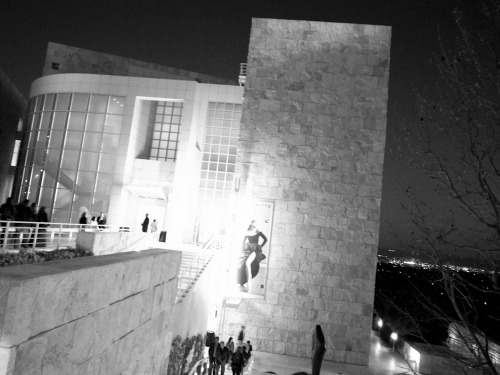 The Getty last night for the opening of Herb Ritt's L.A. Style.  Photo by Brad Elterman