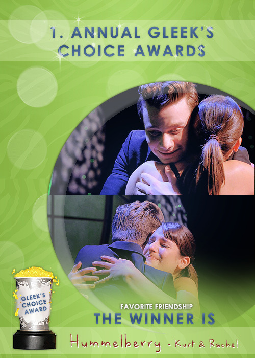 #GleeksChoiceAwards The Award for your Fav Friendship goes to #Hummelberry