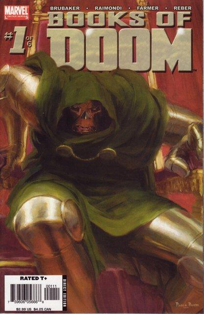 comicbookcovers:  Books Of Doom #1, January 2006, cover by Paolo Rivera