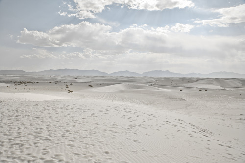 ROAD TRIP image no.332 Barchan Dunes, White Sands, NM June 27th, 2011 Mark Peter Drolet + click through to see larger