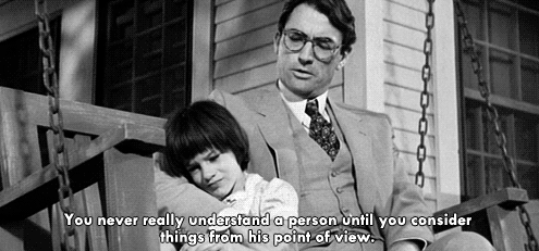 "VIA @taralynnelouise ""Atticus Finch for Father of the Year"""