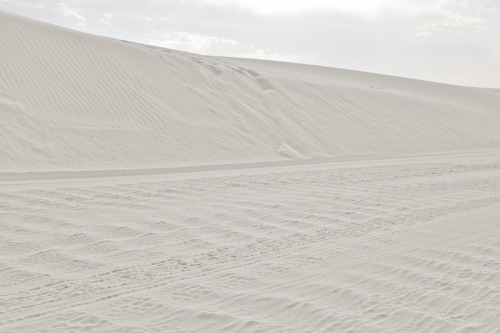 ROAD TRIP image no. 337 White Sands, NM June 27th, 2011 Mark Peter Drolet + click through to see larger