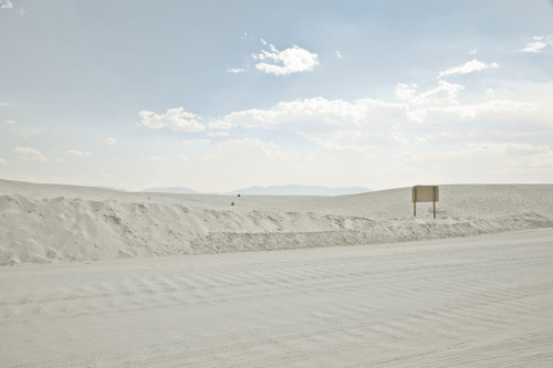 ROAD TRIP image no. 338 White Sands, NM Mark Peter Drolet + click through to see larger
