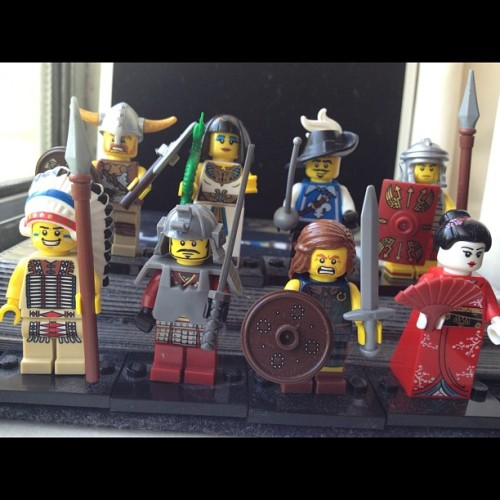 They considered themselves the original G8 #lego #minifigs  (Taken with instagram)