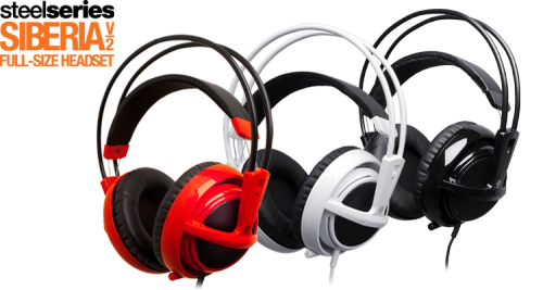 gamefreaksnz:  Deal of the Day SteelSeries Siberia v2 Universal Gaming Headset w/ Retractable Microphone & Integrated Volume Controller $119.99 $49.99