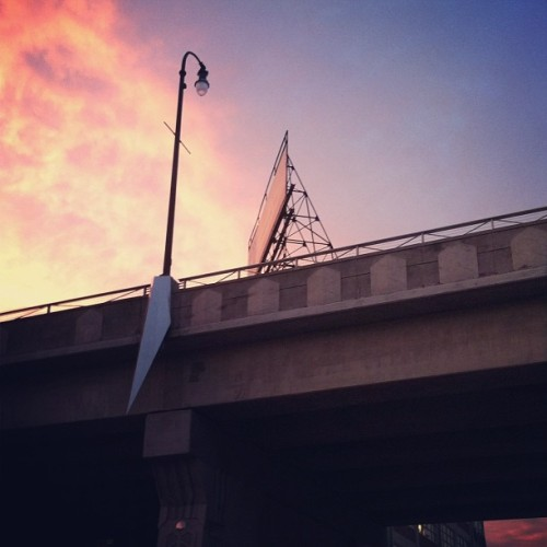 Below the viaduct on Demonbreun St. #nashville (Taken with instagram)
