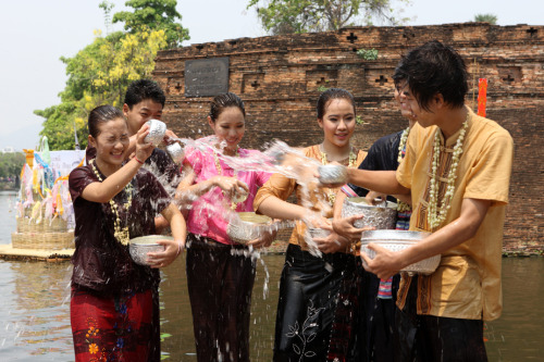 One of the grand Songkran celebrations in Thailand. Isan Songkran Festival and Dok Khun Siang Khaen Songkran Festival at Bueng Kaen Nakhon and Sichan Road (Khao Nieo Road) Khon Kaen province on April 11- 18, 2012. Enjoy!! (^^)http://bit.ly/H3808A