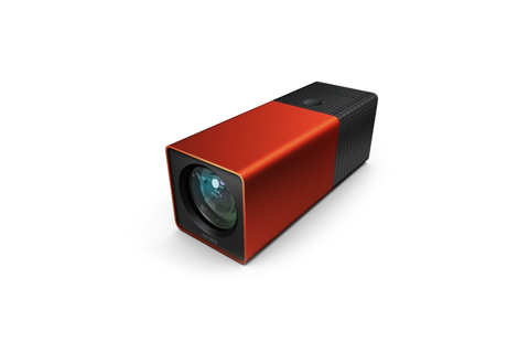 "A unique camera known as the Lytro allows users to capture what the company calls ""living pictures."" It works by capturing the light field: all of the light traveling in every direction and every point in space. (A traditional camera that captures only a single plane of light).  Because of its ability to capture the light field, the picture can be focused and refocused anywhere in the picture. Check out the example of a living picture of two cats below:  The website can be found here, along with how the Lytro works and some more pictures taken with the Lytro."