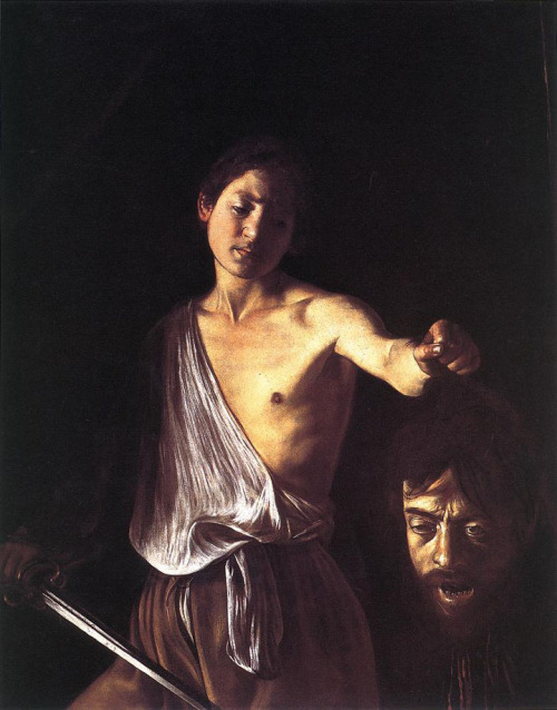 prcht-shrk:  Caravaggio's Self-Portrait As Both David And Goliath