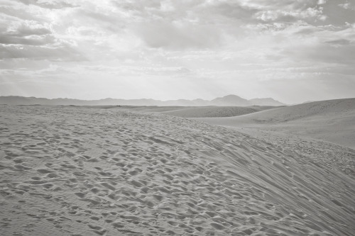 ROAD TRIP image no. 343 White Sands, NM June 27th, 2011 Mark Peter Drolet + click through to see larger