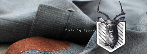 My latest article on Toronto-based menswear line Duly Equipped
