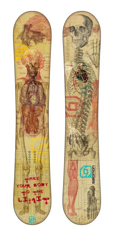 myampgoesto11:  Anatomical Snowboard Design by Jose Luengo  Surely I'll be looking to shred on this board for the 2012-2013 winter season.