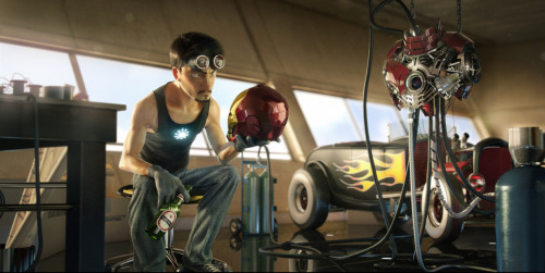 WHAT IF PIXAR CREATED AN IRON MAN MOVIE? (artist: Victor Hugo)