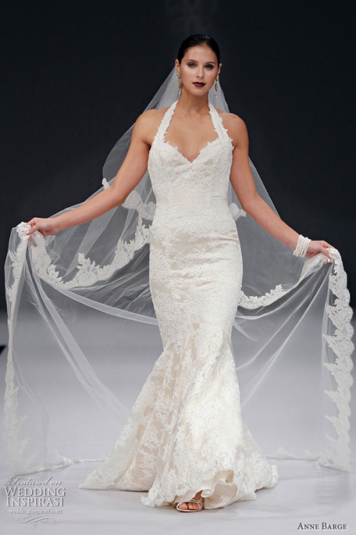 helloweddingdiary:  Anne Barge Spring 2012 bridal collection