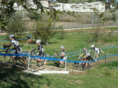 Cyclocross is an awesome sport. dismount at the run up stairs.