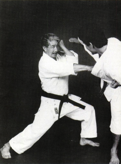 Master Hidetaka Nishiyama in Black Belt Magazine, April 1993