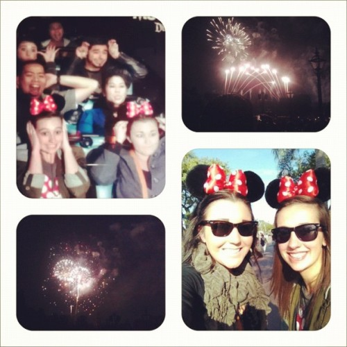 Disneyland day with @samkendig :) #instagood #instacute #instafun #cute #yeahbuddy #disneyland #ears #minnie #spacemountain #fireworks #girly #smile #cuties #awesome #awesomeness #funtimes #greattimes #friends #memories  (Taken with instagram)