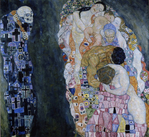 tapasofwords:  Death and Life by Gustav Klimt