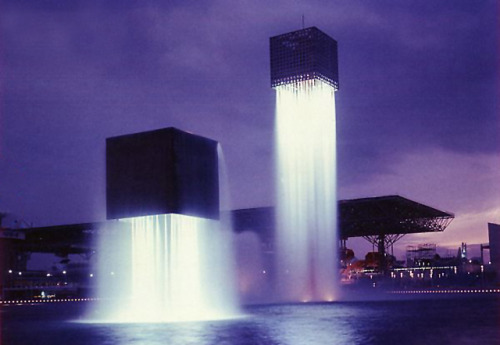 chrisaspiration:  Floating Fountains by Isamu Noguchi