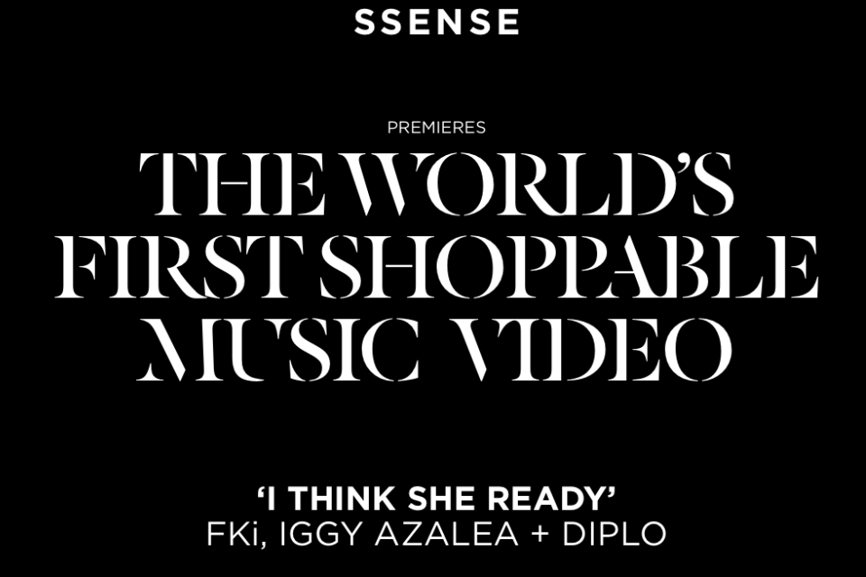 12PMEST. @ssense @fkimusic @iggyazalea @diplo Ya'll ready? http://ssense.com/video/iggy-azalea-diplo-fki-i-think-she-ready/ #ithinksheready