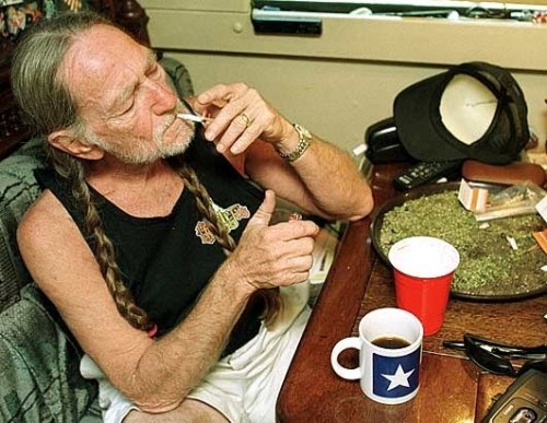 ohmygodmarijuana:  Willie Nelson.
