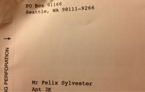 "Sweet name, Felix Sylvester. Double cartoon cat name!  And actually, in Latin, the species for wildcat is ""felis silvestris"" (from where both those cartoon cats took their names, respectively).   And more weird things: Wikipedia describes Sylvester the Cat as ""a three-time Academy Award-winning anthropomorphic Tuxedo cat."" Well, at least he doesn't have to keep spending gobs of money on tux rentals for the Oscar ceremonies.   And the very first image ever broadcast on television during experiments in New York in 1928 was a 13-inch Felix the Cat figurine—used because it was black and white and could stand the intense heat from the lighting."