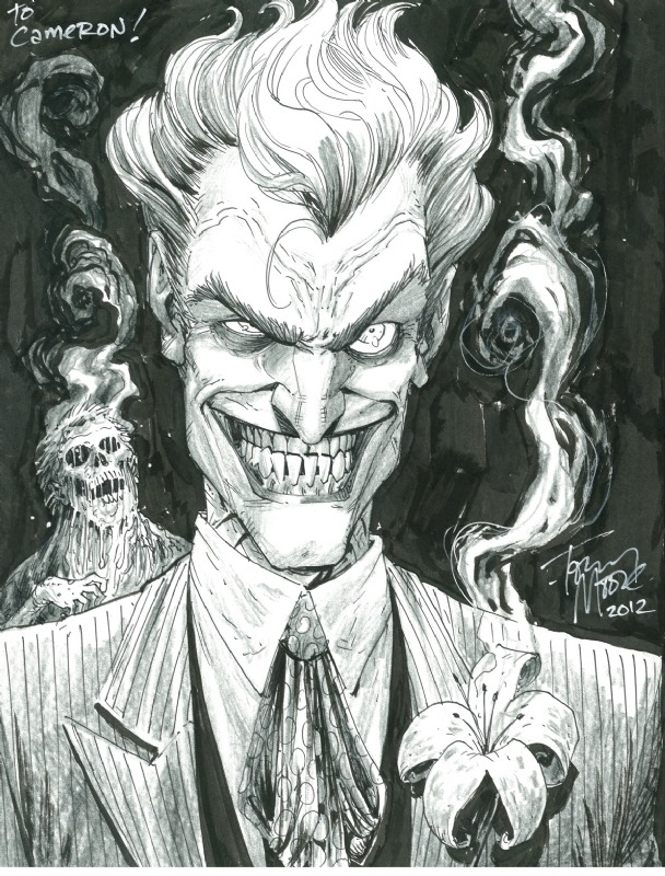 awyeahcomics:  The Joker by Tony Moore