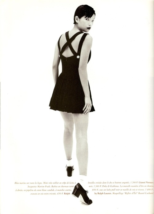 sydneyreising:  Juergen Teller Vogue Paris March 1994.