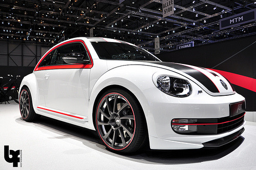 carpr0n:  Herbie got mad Starring: Volkswagen Beetle by ABT (by Bas Fransen Photography)