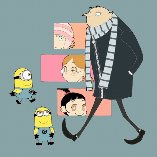 Despicable Me by matsutakedo
