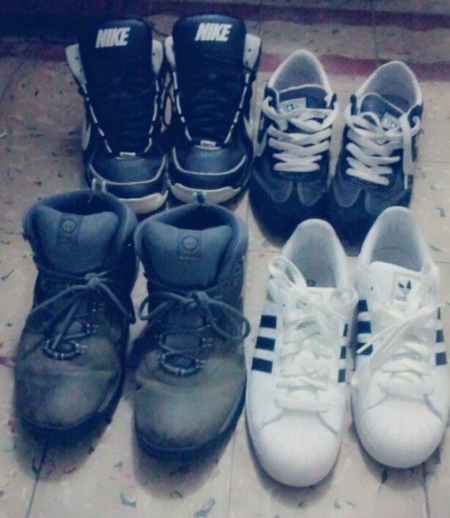 My kicks (Taken with picplz.)