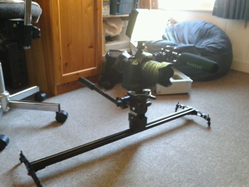 Got a new camera slider. Its ace.