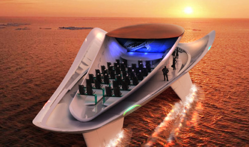 Symphonies of the Sea: Luxury Yacht Concept Designed for Concerts, Ezgi Aksan