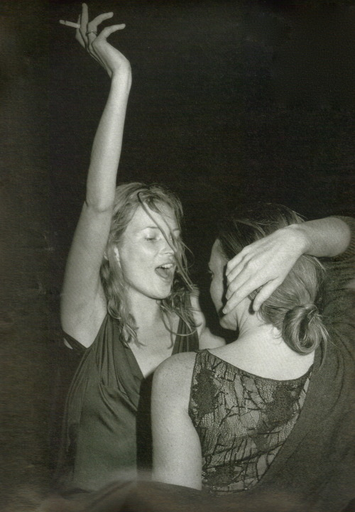 horreure:  High Camp, Kate Moss and Stella McCartney by Bruce Weber for W magazine, November 1997
