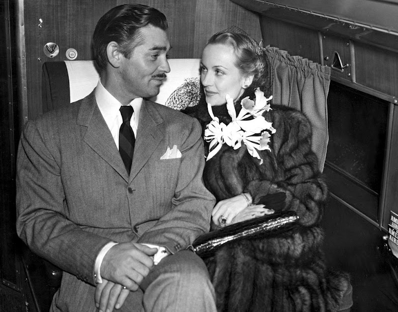 Daily Clark Gable and Carole Lombard photo
