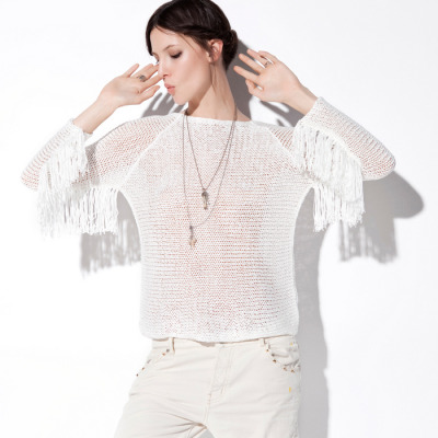 valsunsetstudio:  More fringe ! do you have your fringe sweater for summer?