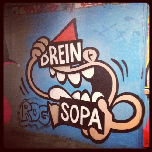 #brein #sopa #utrecht #graffiti (Taken with instagram)