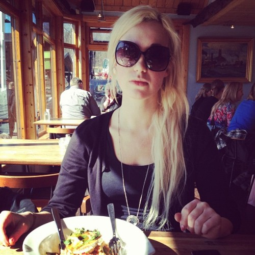 Lunch with Jessica at Pampas Marina #LiveStockholm