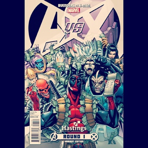 #AvX #Variant #Villians #RoundOne #Comics #Marvel #newcomicbookday  (Taken with instagram)