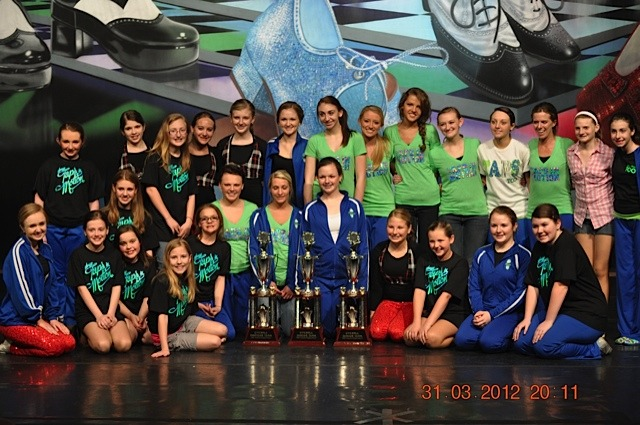 CONGRATS TO SASSY TAPS AMATUER: GRAND CHAMPIONS, TAPS TOO: JR CHALLENGE GRAND CHAMPIONS, and TAPS IN MOTION: SR CHALLENGE GRAND CHAMPION (Tennessee Clogging Classic - Kingsport, TN)