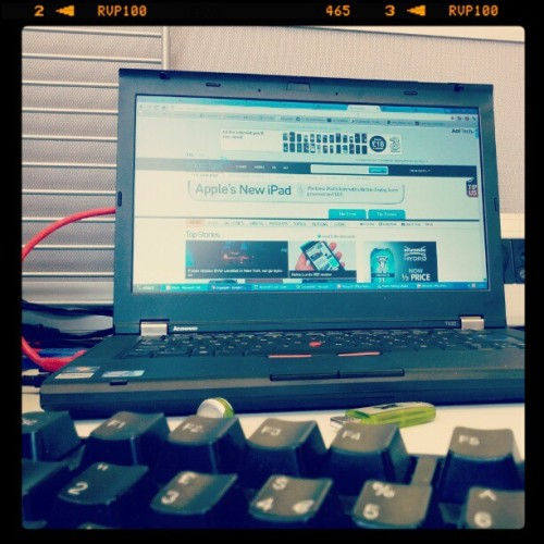 #working  (Taken with instagram)