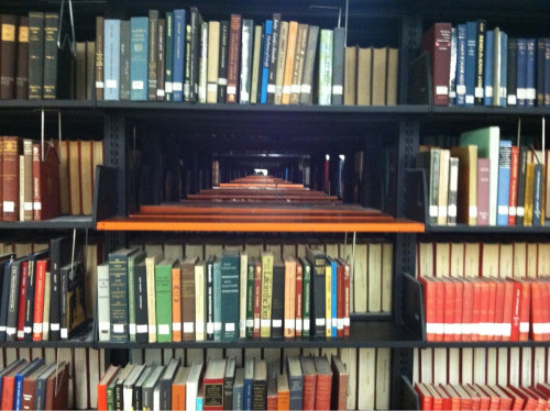 There should be a mandatory gap in the Dewey Decimal system just for situations like this.
