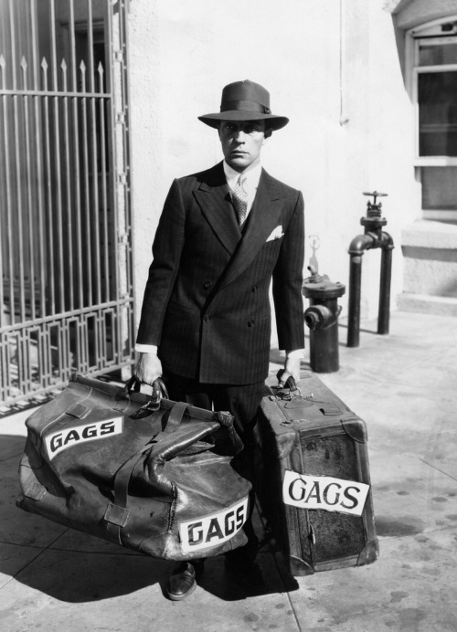 Buster Keaton moving his gags to MGM, 1928.