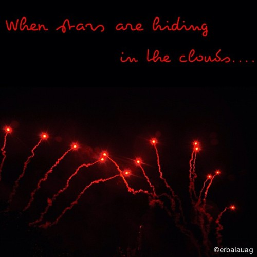 "#photoandlyrics :   When I'm feeling all alone  With so far to go.  The signs are no where on this road  Guiding me home . When the night is closing in  Is falling on my skin. Oh God will You come close?    Light, light, light up the sky.  You light up the sky to show me You are with me.  I can't deny,  No I can't deny that You are right here with me. You've opened my eyes So I can see You all around me.  Light, light, light up the sky.  You light up the sky to show me  That You are with me.  ~ ""Light Up the Sky"" by The Afters   