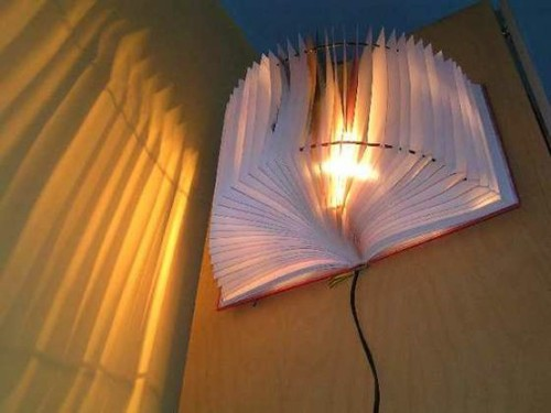 A book light… get it?!