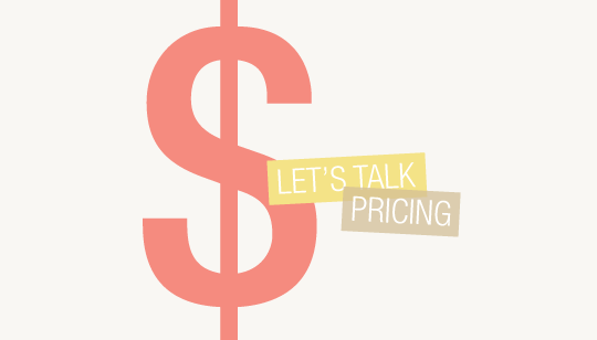 "Be Free, Lance: Pricing Part 1 Not many people talk freely about pricing out freelance work. It's this scary and unknown place, but honestly, everyone wants to know. I plan on covering a variety of topics regarding money over the next few weeks, so definitely check back for more! Before I sart, let's get real : pricing is 100% different for everyone. No two people are alike. Creatives have different work ethics, skill sets, and experience … all of which need to be taken into account. It is my goal to give you a general sense of how to approach things. Let's start first by thinking of the big picture : your ideal income. According to AIGA's annual survey, a fresh designer right out of school makes an average of $35,000 - $45,000 annually or about $20 - $30 per hour. If you're starting out as a freelance creative, these numbers are a great starting point for you to look at. However, keep in mind that these averages are for those who are working with a company, have benefits, and a set work week for the most part. They're not freelancers. People working for themselves do not receive benefits, have extra expenses, work odd hours, and are required to pay self employments taxes. Plus, not all hours put in are paid. There's nobody above you paying you to promote and market yourself … It's all out of pocket. With that said, although the yearly income averages I mentioned above are a very good starting point for research, a lot more needs to be taken into account. The first thing I did when I decided to work for myself full-time was set a ""goal income."" You know, what did I want to make, within reason. And because people rarely talk numbers ( even though everyone wants to know ), I'm going to be completely open and honest about my process. So here it goes : After a lot of thought, I told myself that I would be happy with at least $30,000 after one year of freelancing. That may seem low ( I kind of did that on purpose to myself ), compared to the $35,000 - $45,000 estimated earlier, but I knew that a LOT of my time would be unpaid dedicated to networking, research, and the development of my own business throughout that first year. I realized that I was building something from the ground up and money wouldn't appear from thin air. My ideal yearly income has since changed, but hopefully this gives you some sort of starting point. Think about what you want to make, what's reasonable, and find a happy medium. Who knows, you may surprise yourself and exceed your ideal income at the end of the first year. If I can do it, you can do it! Hard work pays off. Gain experience, learn as you go, and your ideal income will increase easily over time. The second thing to conquer is setting up an hourly rate, which is the most challenging part by far. Sure, you could figure out how many hours you think you're going to work per week, on average, and do some math with your ideal income to come up with an hourly rate. Or you could plug in some numbers to this free rate calculator. But here's the thing : doing math will only give you a good starting point. It's not an answer. There is absolutely no way to know exactly how much you're going to make as a freelancer. There are just too many variables. What I can tell you, though, is that you need to compensate yourself fairly. The $20 - $30 an hour estimate from AIGA does not work in this case, because working for a company and being a freelance creative equal different things when it comes to money. In my opinion, if you're working for yourself, your hourly rate needs to be somewhat higher than the averages found on AIGA's survey if you're wanting to reach your ideal income. It's the truth. While a designer working for a company could reach $35,000 a year by working at $20ish an hour, a freelance creative would have to work even more hours to reach that same salary. The reason for this is simple : not all hours a freelancer works are paid for. There are the hours you'll spend endlessly marketing yourself and the times where you work more than you initially estimated on a project ( unpaid overtime ). There's value and work ethic. Long work days and phone meetings. Because of these reasons, and many more, you need to adjust your price appropriately. It's up to you how you interpret all of these things, but know that they need to be accounted for and added. Don't undersell yourself, or you won't survive. I could go on and on about each and every little detail that goes into figuring out rates … from expenses to your own value as a creative, it's all relavent! I hope that this post has come across as honest and raw. I know that not everyone will agree with my thoughts on pricing, but it's good to get it out there and open for discussion. Remember, I'll be back in a few weeks for even more on pricing! Written by Breanna Rose."