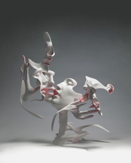 Dissolving Figurative Sculptures by Unmask